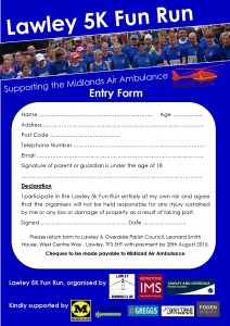 Lawley 5K ENTRY FORM
