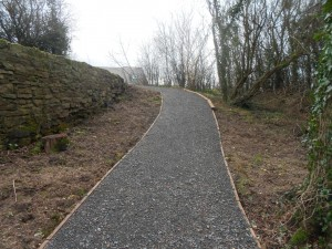 NEW FOOTPATH NEWDALE DINGLE 1