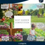Promotional poster for the Lawley and Overdale Best Garden Competition