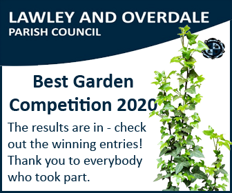 A promotional image directing people to find out who the winners of the Best Garden Competition 2020 are.